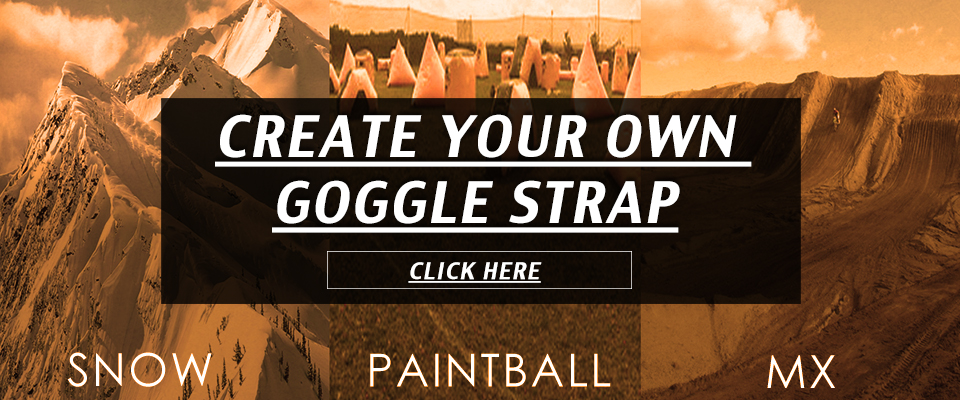 Create your own Goggle Strap